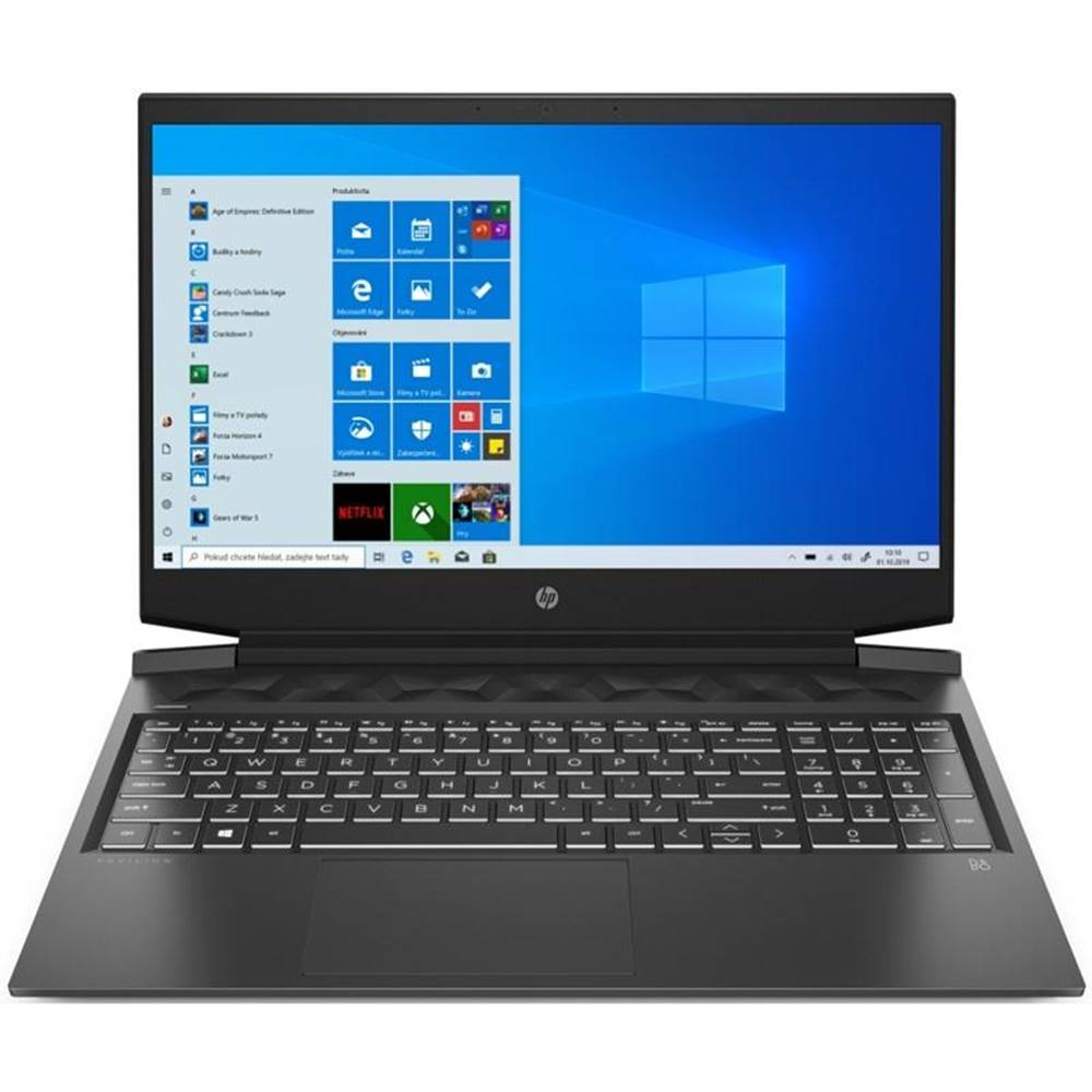 HP Notebook HP Pavilion Gaming 16-a0003nc - Shadow Black