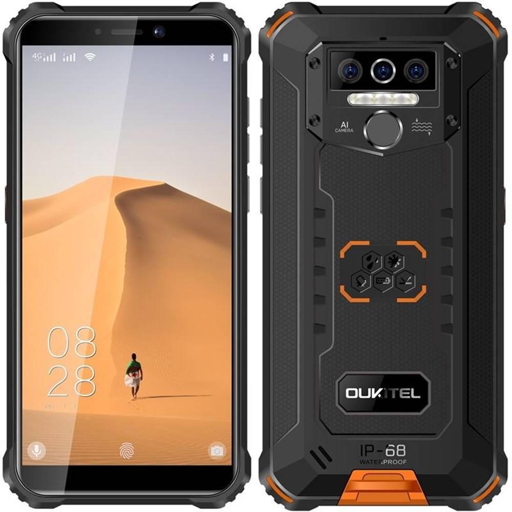 Oukitel Mobilný telefón Oukitel WP5 čierny/oranžový