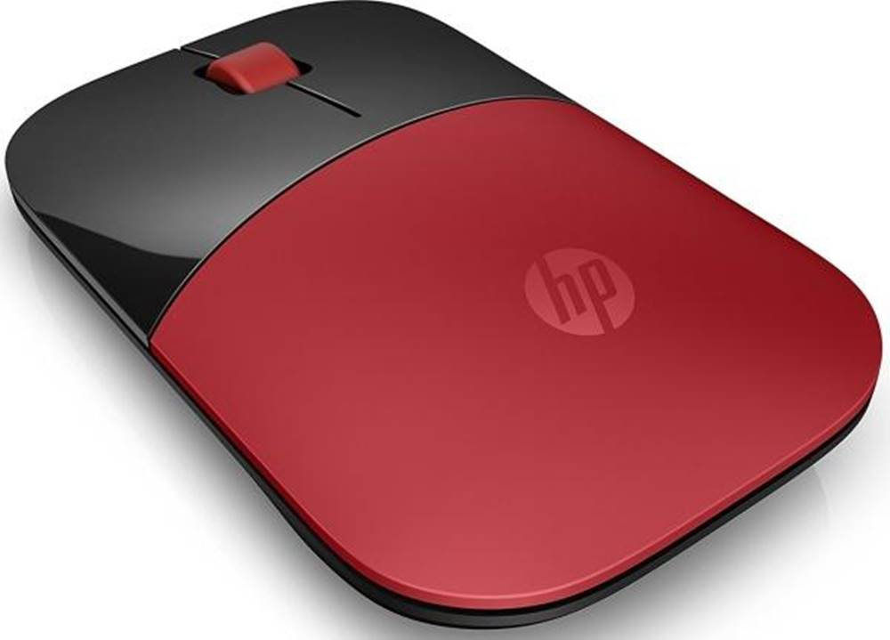 HP Myš  HP Z3700 červená