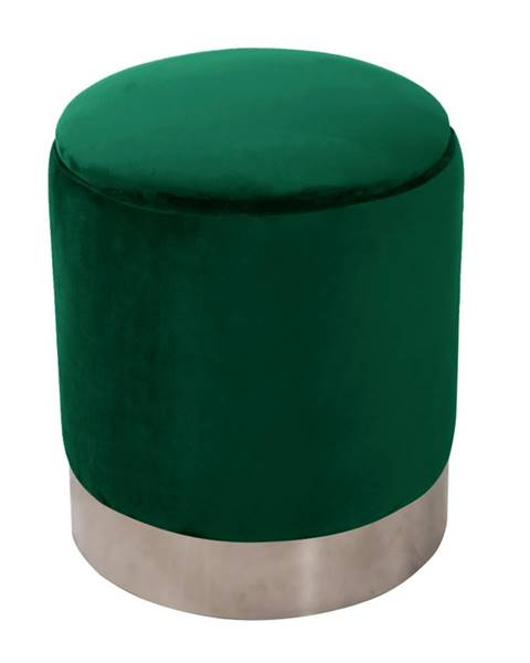 Zelená taburetka Tempo Kondela