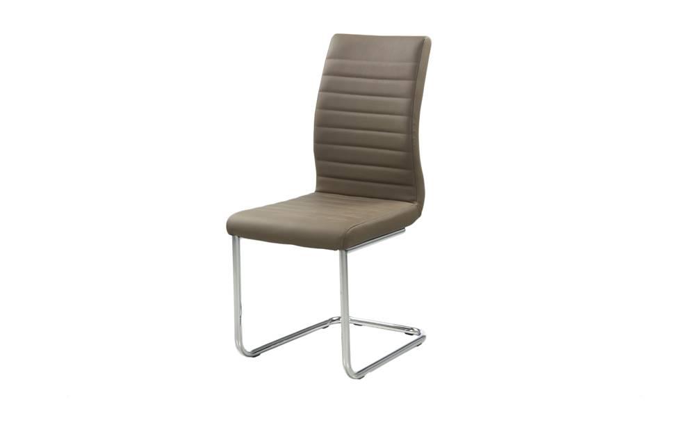 Sconto Jedálenská stolička PRAG svetlohnedá