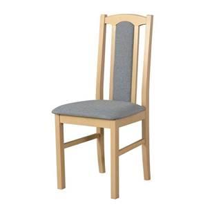 Jedálenská stolička BOLS 7 svetlosivá