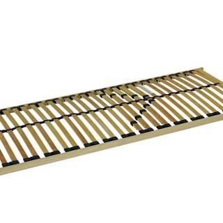 Pevný lamelový rošt DOUBLE T5 90x200 cm