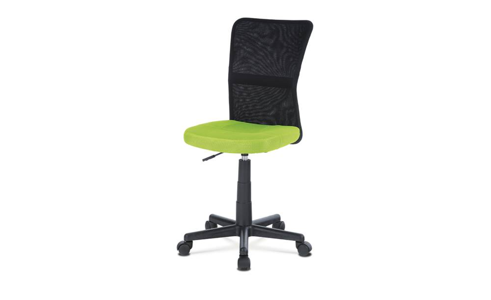 Sconto Kancelárska stolička BAMBI zelená/čierna